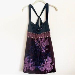 Free People Dresses - Free People Jeweled Dress Size 6
